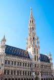 Το μεγάλο τετράγωνο παλατιών στις Βρυξέλλες Στοκ Εικόνα