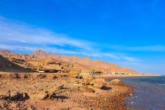 Το μεγάλο φαράγγι Dahab Στοκ Εικόνες