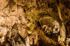 Το μεγάλο δωμάτιο - εθνικό πάρκο σπηλαίων Carlsbad Στοκ φωτογραφία με δικαίωμα ελεύθερης χρήσης