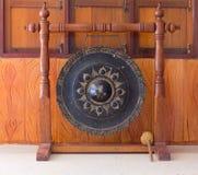 Το μεγάλο gong στοκ φωτογραφία με δικαίωμα ελεύθερης χρήσης