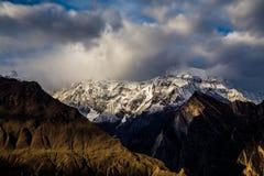 Το μεγάλο Rakaposhi Πακιστάν Στοκ Εικόνα