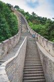 Το μεγαλοπρεπές Σινικό Τείχος, Πεκίνο, Κίνα στοκ εικόνες με δικαίωμα ελεύθερης χρήσης