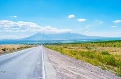Το μεγαλύτερο Ararat τοποθετεί Στοκ εικόνα με δικαίωμα ελεύθερης χρήσης