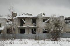 Το μερικώς τελειωμένο σπίτι στοκ φωτογραφίες με δικαίωμα ελεύθερης χρήσης