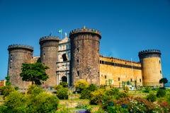 Το μεσαιωνικό κάστρο Maschio Angioino Στοκ εικόνες με δικαίωμα ελεύθερης χρήσης