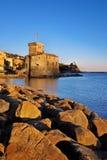 Το μεσαιωνικό κάστρο, Rapallo Στοκ Εικόνες