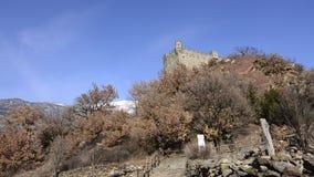 Το μεσαιωνικό κάστρο Ussel απόθεμα βίντεο