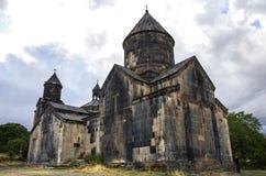 Το μεσαιωνικό μοναστήρι Tegher σύνθετο, στην κλίση Aragats τοποθετεί Στοκ φωτογραφία με δικαίωμα ελεύθερης χρήσης