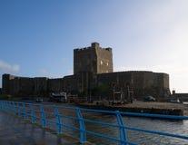 Το μεσαιωνικό νορμανδικό Castle Στοκ εικόνα με δικαίωμα ελεύθερης χρήσης