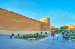 Το μεσαιωνικό φρούριο της Shiraz, Ιράν Στοκ φωτογραφίες με δικαίωμα ελεύθερης χρήσης