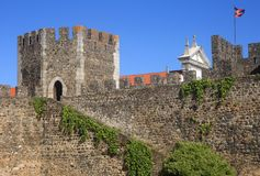 Το μεσαιωνικό Beja Castle, Beja, Αλεντέιο, Porugal Στοκ Εικόνες