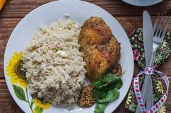 Το μεσημεριανό γεύμα ικανότητας Στοκ Εικόνες