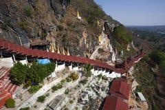Το Μιανμάρ - φεστιβάλ σπηλιών Pindaya Στοκ φωτογραφία με δικαίωμα ελεύθερης χρήσης