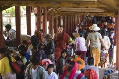 Το Μιανμάρ - φεστιβάλ σπηλιών Pindaya Στοκ εικόνες με δικαίωμα ελεύθερης χρήσης