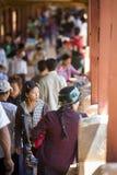 Το Μιανμάρ - φεστιβάλ σπηλιών Pindaya Στοκ εικόνα με δικαίωμα ελεύθερης χρήσης