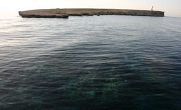Το μικρό ακατοίκητο νησί, Ερυθρά Θάλασσα Στοκ φωτογραφίες με δικαίωμα ελεύθερης χρήσης