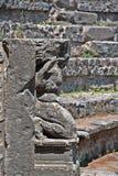Το μικρό θέατρο της archeological περιοχής της Πομπηίας Στοκ φωτογραφία με δικαίωμα ελεύθερης χρήσης