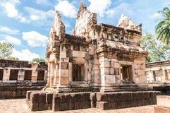 Το μικρό κάστρο Prasat Sadok Kok Thom Στοκ Εικόνες