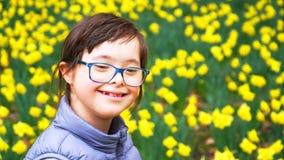 Το μικρό κορίτσι έχει τη διασκέδαση Στοκ εικόνα με δικαίωμα ελεύθερης χρήσης