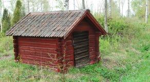 Το μικρό κόκκινο σπίτι Στοκ εικόνα με δικαίωμα ελεύθερης χρήσης