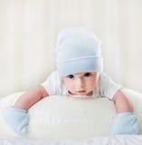 Το μικρό μωρό στην έννοια παιδικής ηλικίας στοκ εικόνα