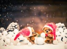 Το μικρό παιχνίδι αντέχει στη ζωή Χριστουγέννων ακόμα Στοκ φωτογραφίες με δικαίωμα ελεύθερης χρήσης