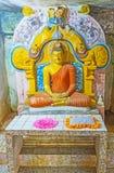 Το μικρό σπίτι εικόνας της λάρνακας Vijayothpaya Στοκ Εικόνες