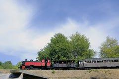 Το μικρό τραίνο ατμού Anduze Στοκ εικόνες με δικαίωμα ελεύθερης χρήσης