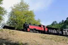 Το μικρό τραίνο ατμού Anduze Στοκ Εικόνα