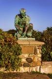 Το μνημείο αγαλμάτων του Μαίην Lobsterman στοκ εικόνες