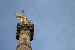 Το μνημείο αγγέλου στην ανεξαρτησία στο Μεξικό DF Στοκ εικόνα με δικαίωμα ελεύθερης χρήσης