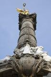 Το μνημείο αγγέλου στην ανεξαρτησία στο Μεξικό DF Στοκ Φωτογραφίες