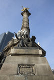 Το μνημείο αγγέλου στην ανεξαρτησία στο Μεξικό DF Στοκ Εικόνες