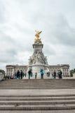 Το μνημείο Βικτώριας είναι ένα μνημείο στη βασίλισσα Victoria Στοκ φωτογραφία με δικαίωμα ελεύθερης χρήσης