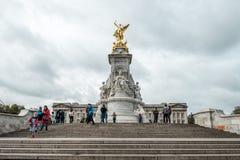 Το μνημείο Βικτώριας είναι ένα μνημείο στη βασίλισσα Victoria Στοκ Εικόνες