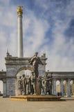 Το μνημείο Καζάκος Eli στην πόλη Astana Στοκ Φωτογραφίες