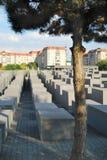 Το μνημείο ολοκαυτώματος είναι ένα διάσημο ορόσημο του Βερολίνου Στοκ Φωτογραφίες