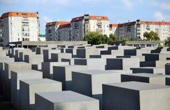 Το μνημείο ολοκαυτώματος είναι ένα διάσημο ορόσημο του Βερολίνου Στοκ εικόνα με δικαίωμα ελεύθερης χρήσης