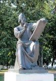 Το μνημείο σε Andrei Rublev, ρωσικός ζωγράφος εικονιδίων του 15ου αιώνα Στοκ Φωτογραφίες