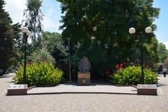 Το μνημείο στα θύματα του Τσέρνομπιλ Στοκ Εικόνα