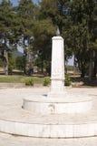 Το μνημείο στην έγερση σε Litohoro, Ελλάδα Στοκ εικόνα με δικαίωμα ελεύθερης χρήσης