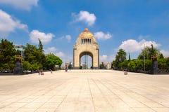 Το μνημείο στην επανάσταση στην Πόλη του Μεξικού στοκ εικόνες