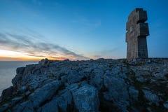 Το μνημείο στους βρετόνους της ελεύθερης Γαλλίας ξεχωρίζει επάνω από Στοκ εικόνες με δικαίωμα ελεύθερης χρήσης
