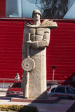 Το μνημείο στους υπερασπιστές της μητέρας πατρίδας Στοκ Εικόνα