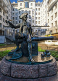 Το μνημείο στο βομβαρδιστικό Vasiliy Korchmin Στοκ Εικόνες