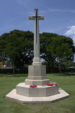 Το μνημείο στο πολεμικό Kanchanaburi νεκροταφείο, Thailan Στοκ φωτογραφία με δικαίωμα ελεύθερης χρήσης