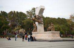 Το μνημείο στο σουλτάνο Mehmed ΙΙ Στοκ φωτογραφίες με δικαίωμα ελεύθερης χρήσης