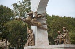 Το μνημείο στο σουλτάνο Mehmed ΙΙ Στοκ Φωτογραφίες