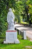 Το μνημείο στο στρατιώτη κοντά Maikop στη δεξαμενή στοκ φωτογραφία με δικαίωμα ελεύθερης χρήσης