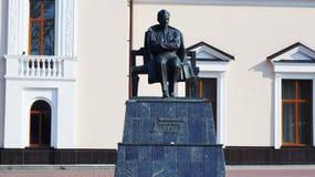 Το μνημείο στο συγγραφέα Ali Shogentsukov Kabardian Στοκ Εικόνα